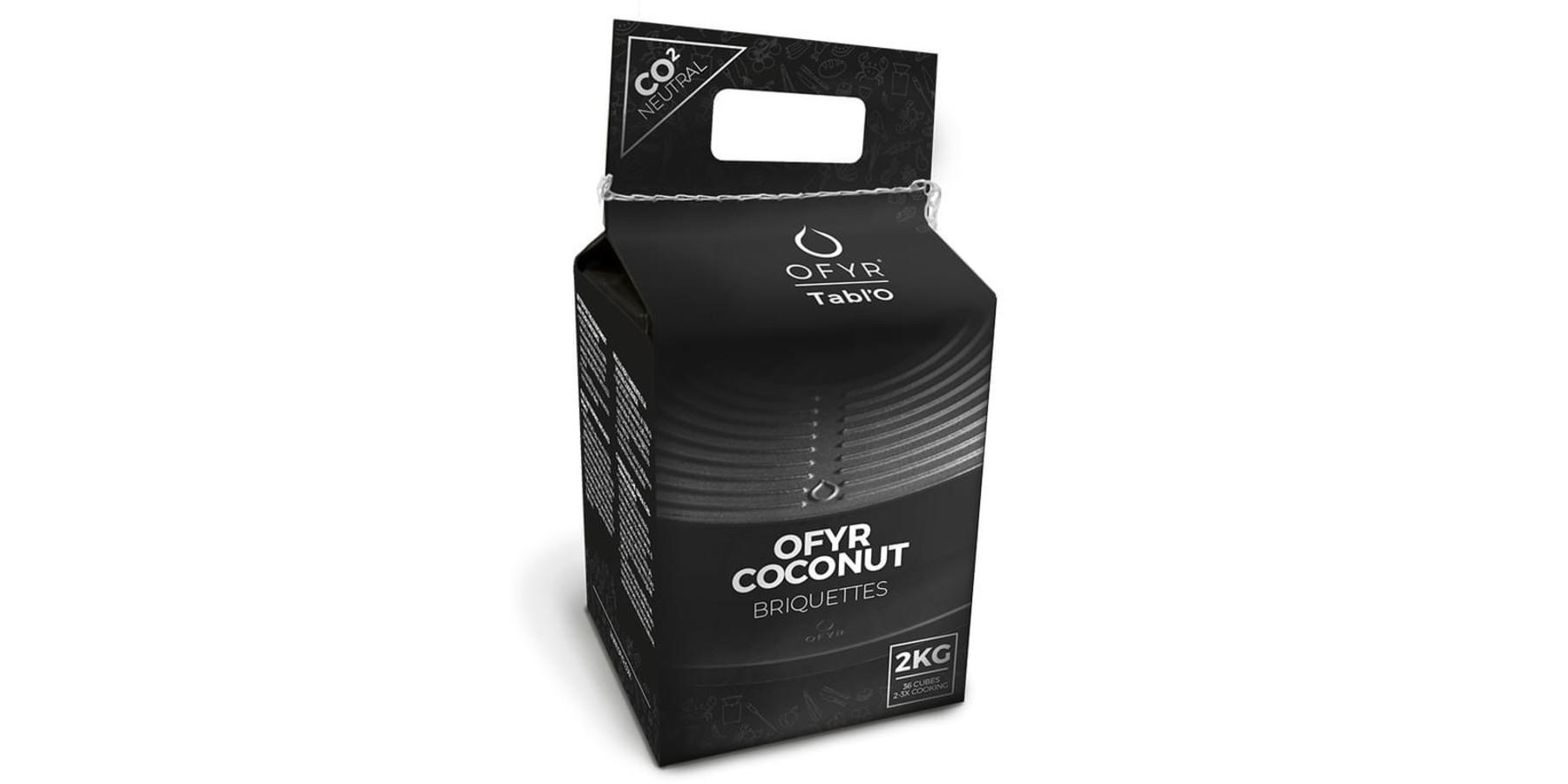 Coconut briquettes 2 kg