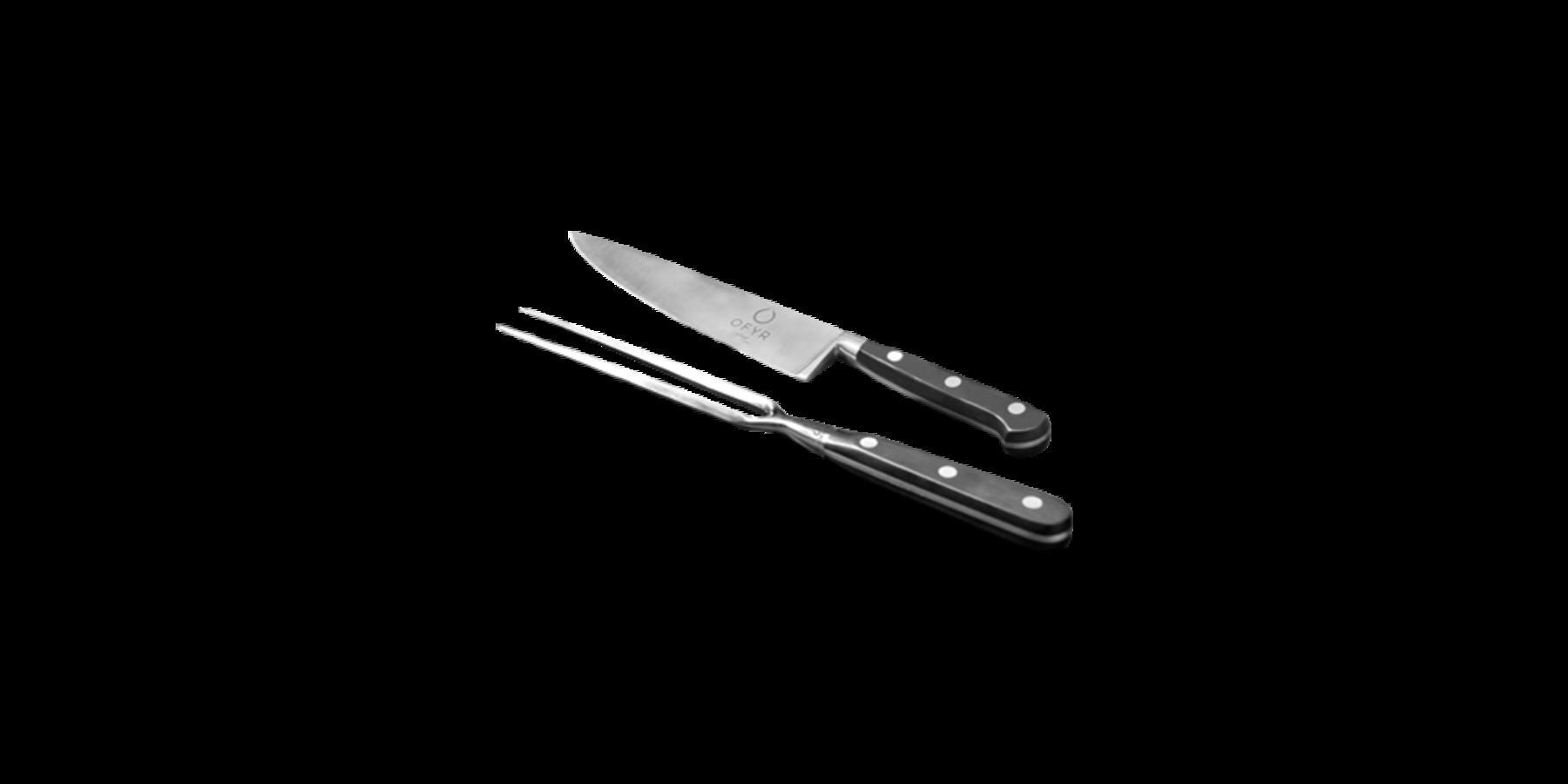 Mes en vork set