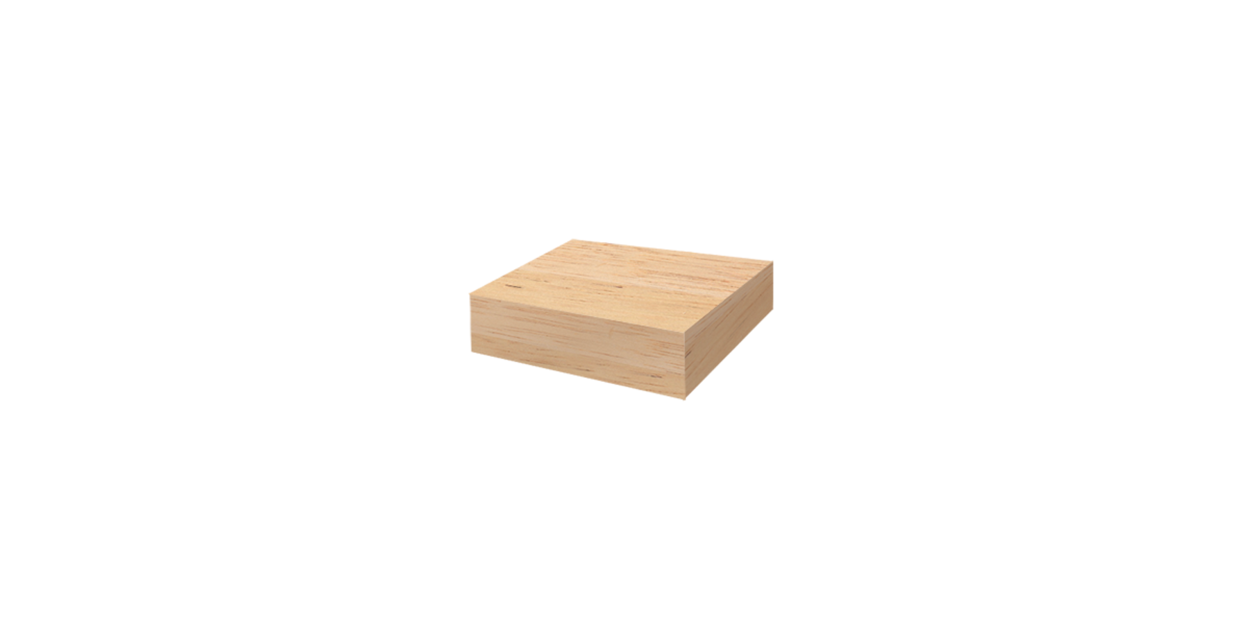 Blok Teak hout