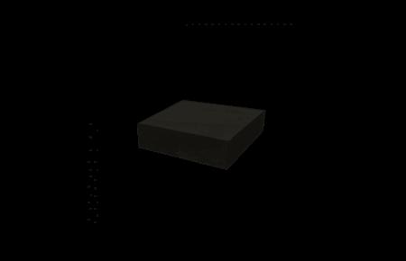 OFYR Blok donker grijs keramiek