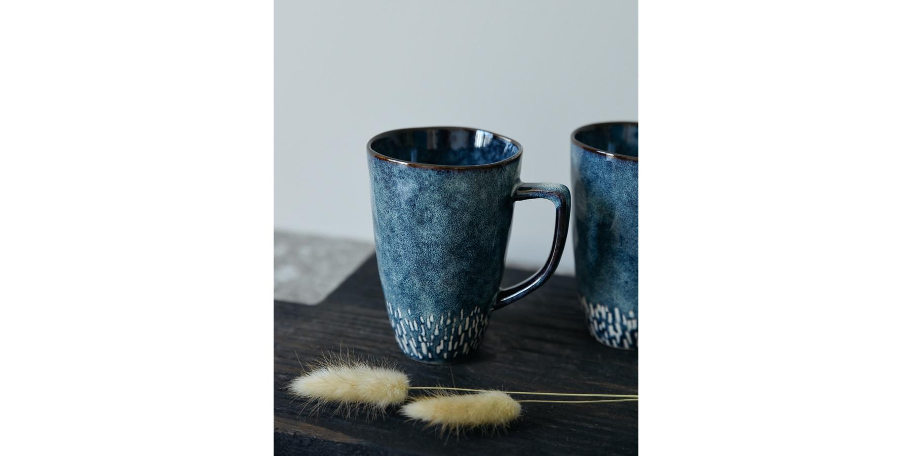Mok of mug reactive blue 13 cm