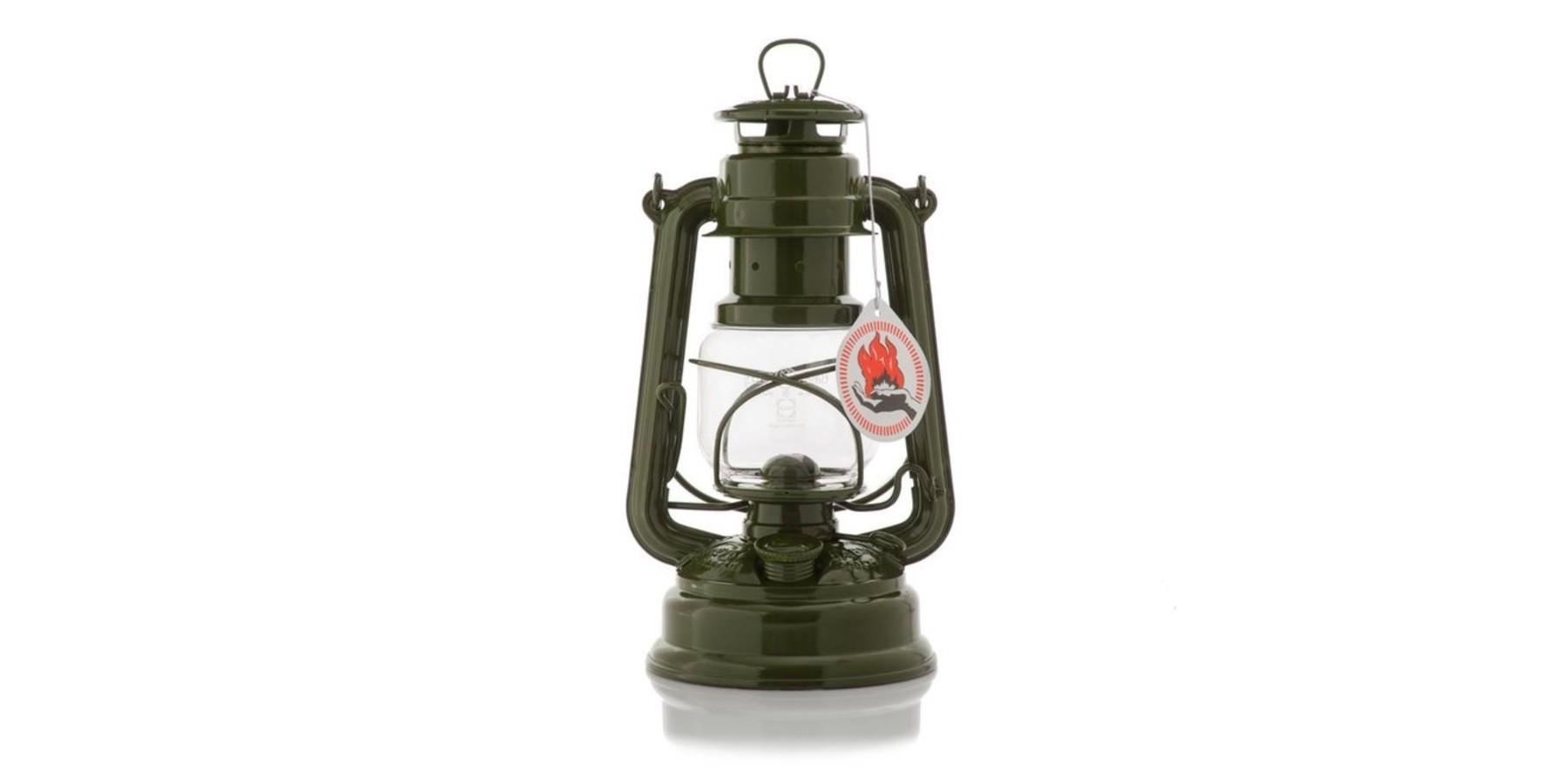 Stormlamp olijfgroen