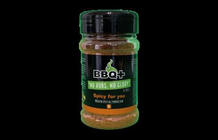 BBQ+ BBQ+ Rub Spicy For You - 200 gram