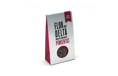 Flor del Delta Pimientas zeezout en pepers