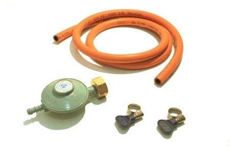 Gas drukregelaar of gasdrukset