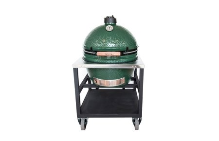 Big Green Egg XLarge in RVS tafel