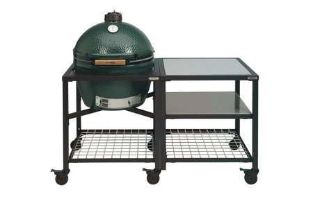 Big Green Egg XLarge in Egg Frame + Expension Frame SS-SS-Grid