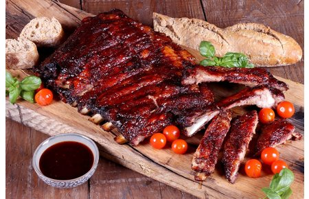 DeRaza Iberico Buik Spare ribs (St. Louis Style Cut)