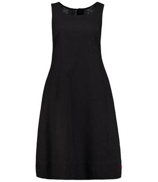 Upasana Zwarte mouwloze jurk