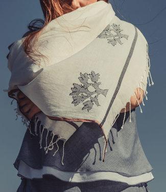 Sjaal biokatoen