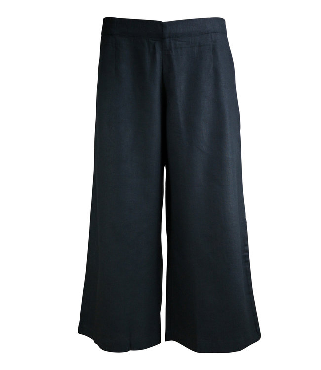 Upasana Black organic cotton pants
