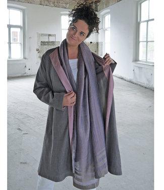 Akaaro Silk coat lavender