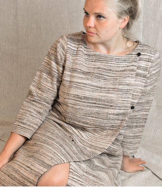 Cotton Rack Geweven jurk katoen