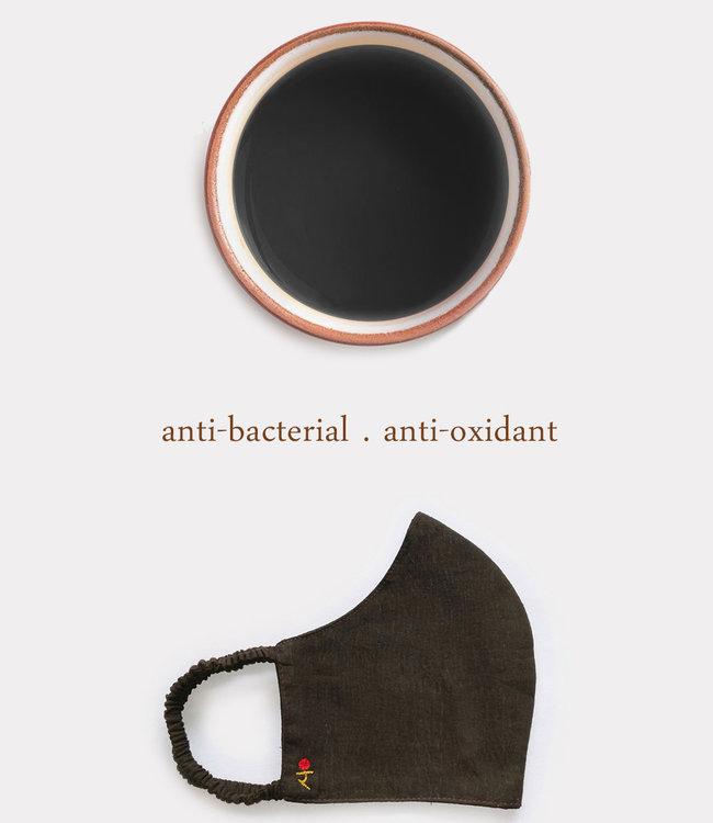 Rias Facemask natural  black dye