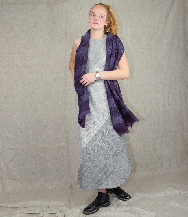 Padmaja Lange jurk, biologisch katoen mouwloos