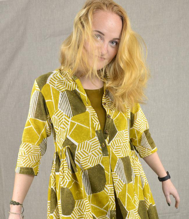 Rias Set dress and cloak hand woven