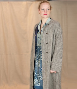 Akaaro Long coat Harsil Himalaya wool