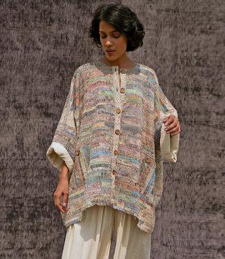 House of Wandering Silk Kimono-jas upcycled