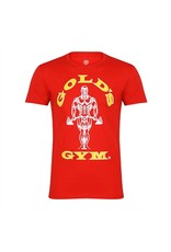 GOLD'S GYM GOLD'S GYM T-SHIRT MUSCLE JOE RED