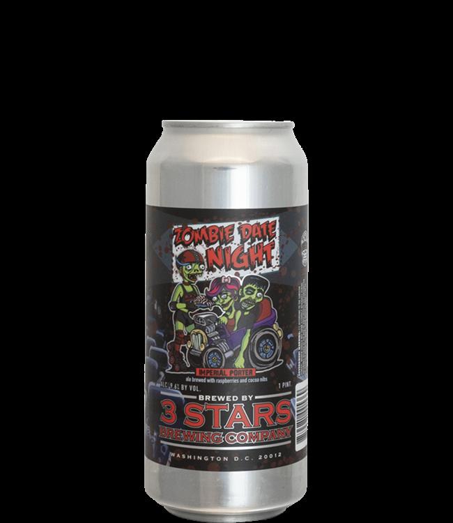 3 Stars Brewing Company Zombie Date Night