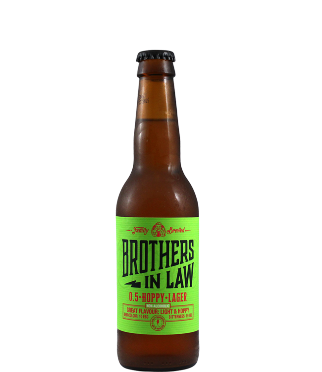 Brothers in Law Brewing Hoppy Lager