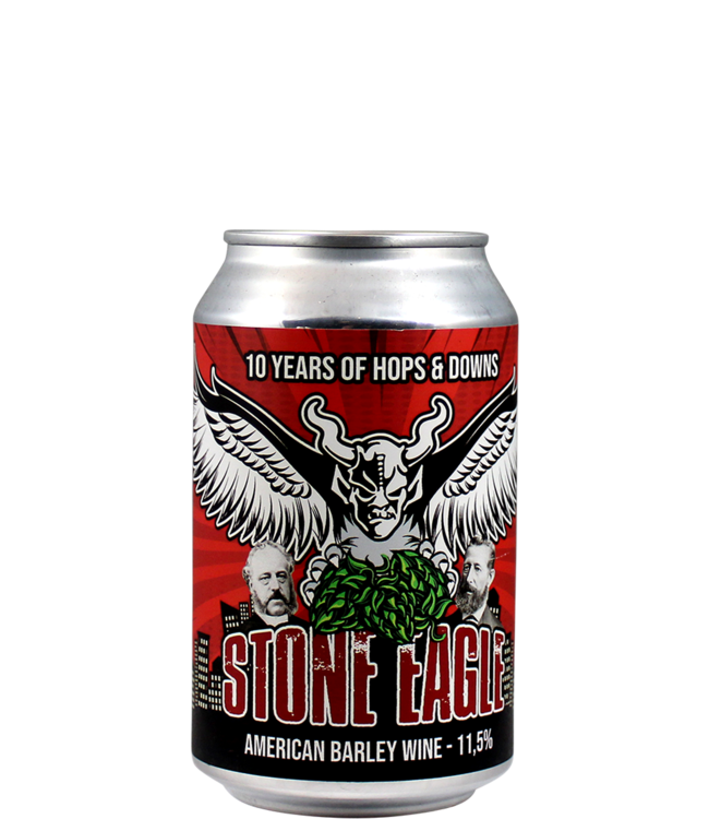 Brouwerij Poesiat & Kater Stone Eagle (More Beer & Stone collab)