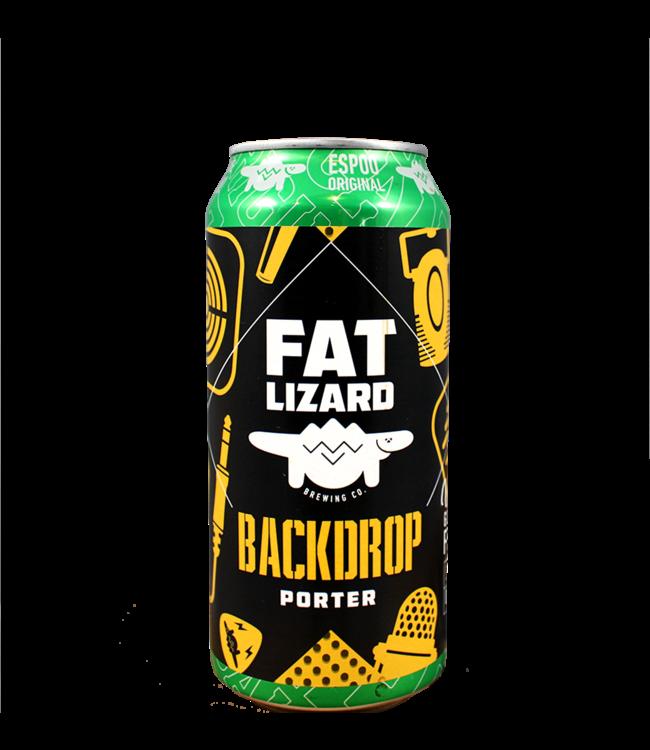 Fat Lizard Brewing Company Backdrop Porter