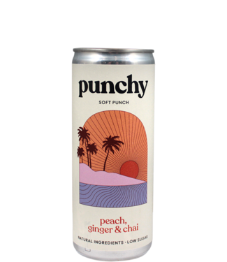 Punchy Drinks Peach, Ginger & Chai
