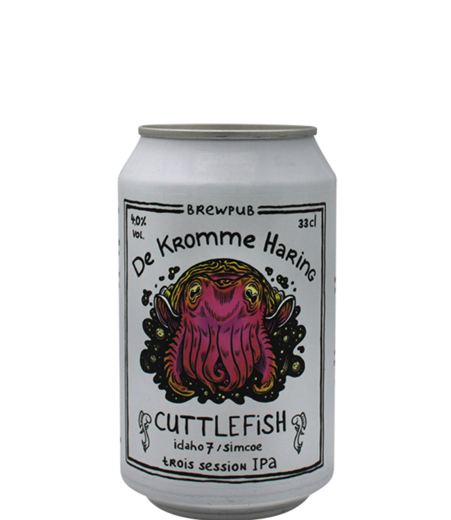De Kromme Haring Cuttlefish: Idaho 7 & Simcoe