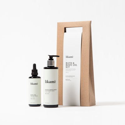 LIKAMI LIKAMI bath & body oil kit