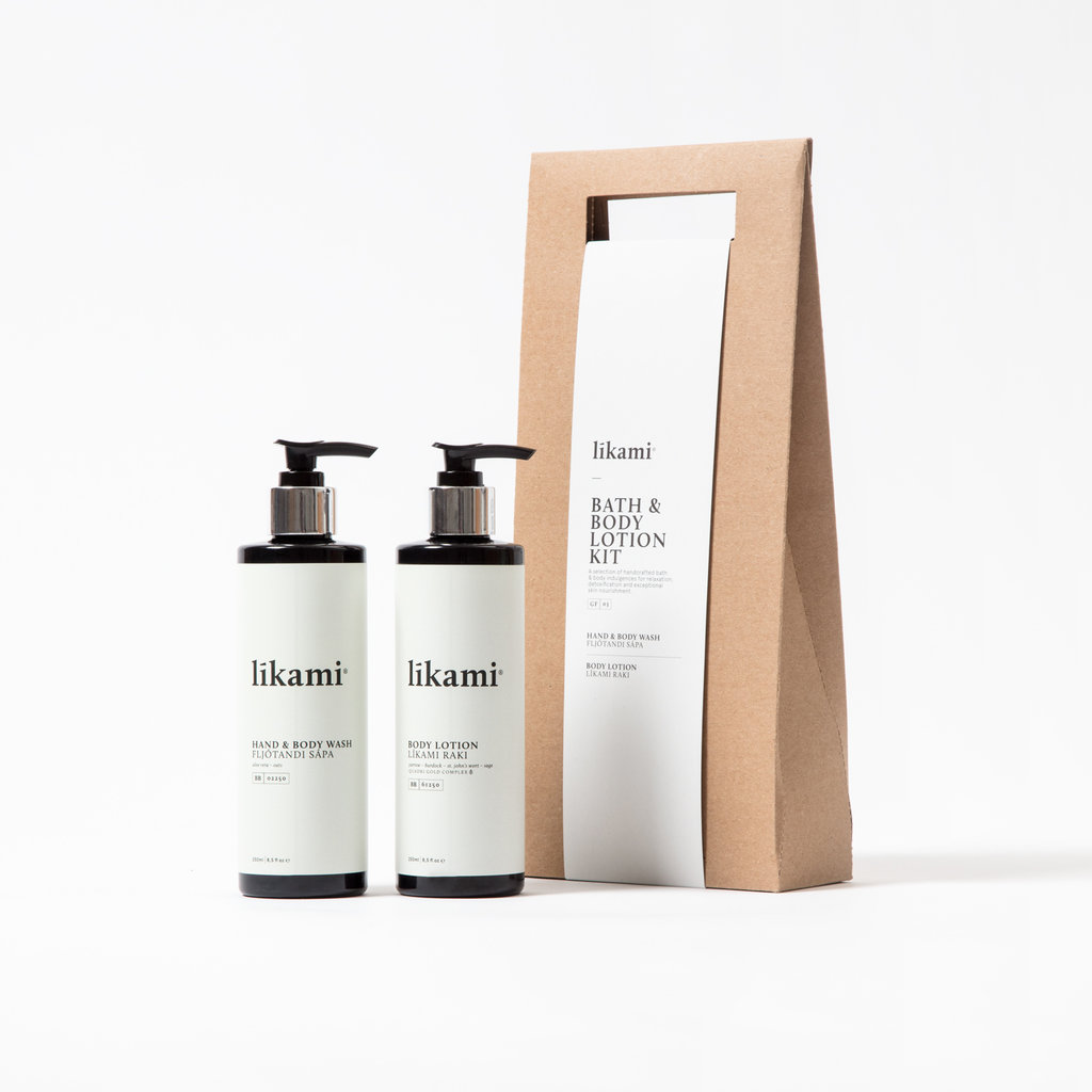 LIKAMI LIKAMI bath & body lotion kit
