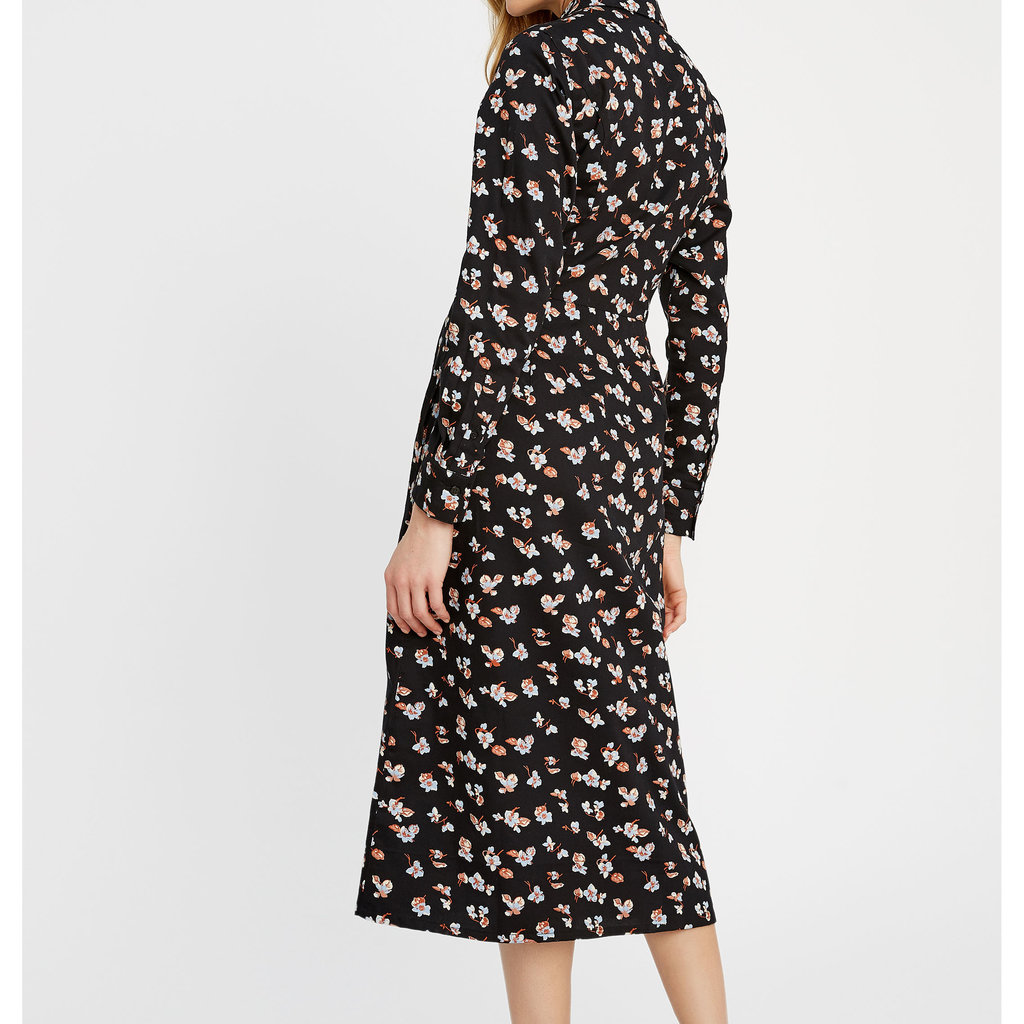 People Tree People Tree Piper floral shirt dress