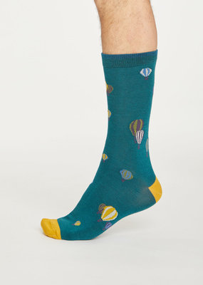 Thought Thought Explorer socks Deep teal