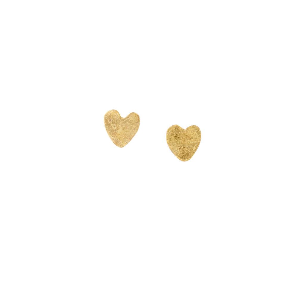 People Tree People Tree Heart Stud Earrings