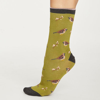Thought Thought British birds socks