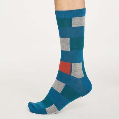 Thought Thought Geo Stripe socks