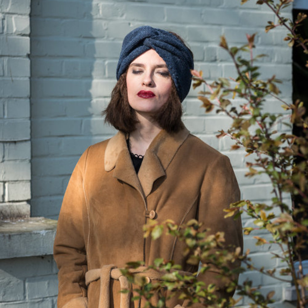 Lotte Van Huyck haarband wol