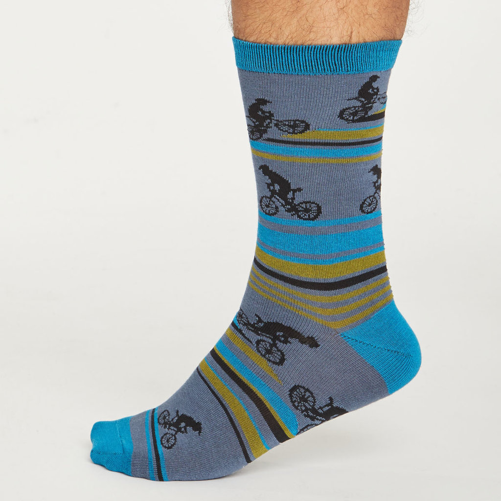 Thought Thought Bike Rider sock box