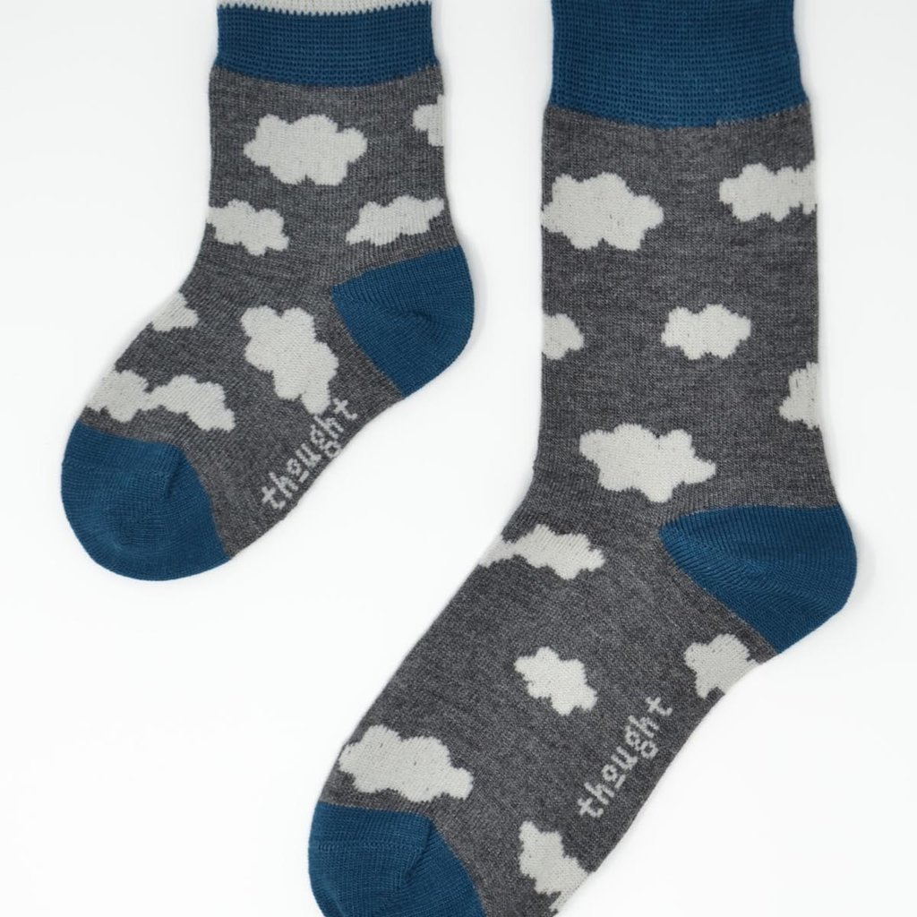 Thought Thought Overcast kids socks