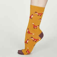 Thought Thought Foxy Bamboo Fox Socks
