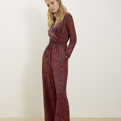 People Tree People Tree Drew Jumpsuit - Dogwood