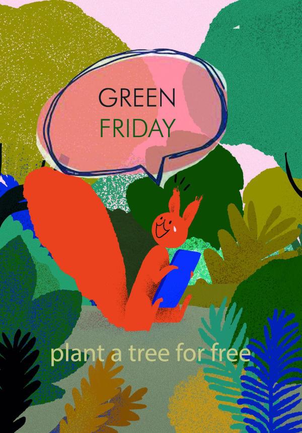 Green Friday Deals -Bos voor Iederen