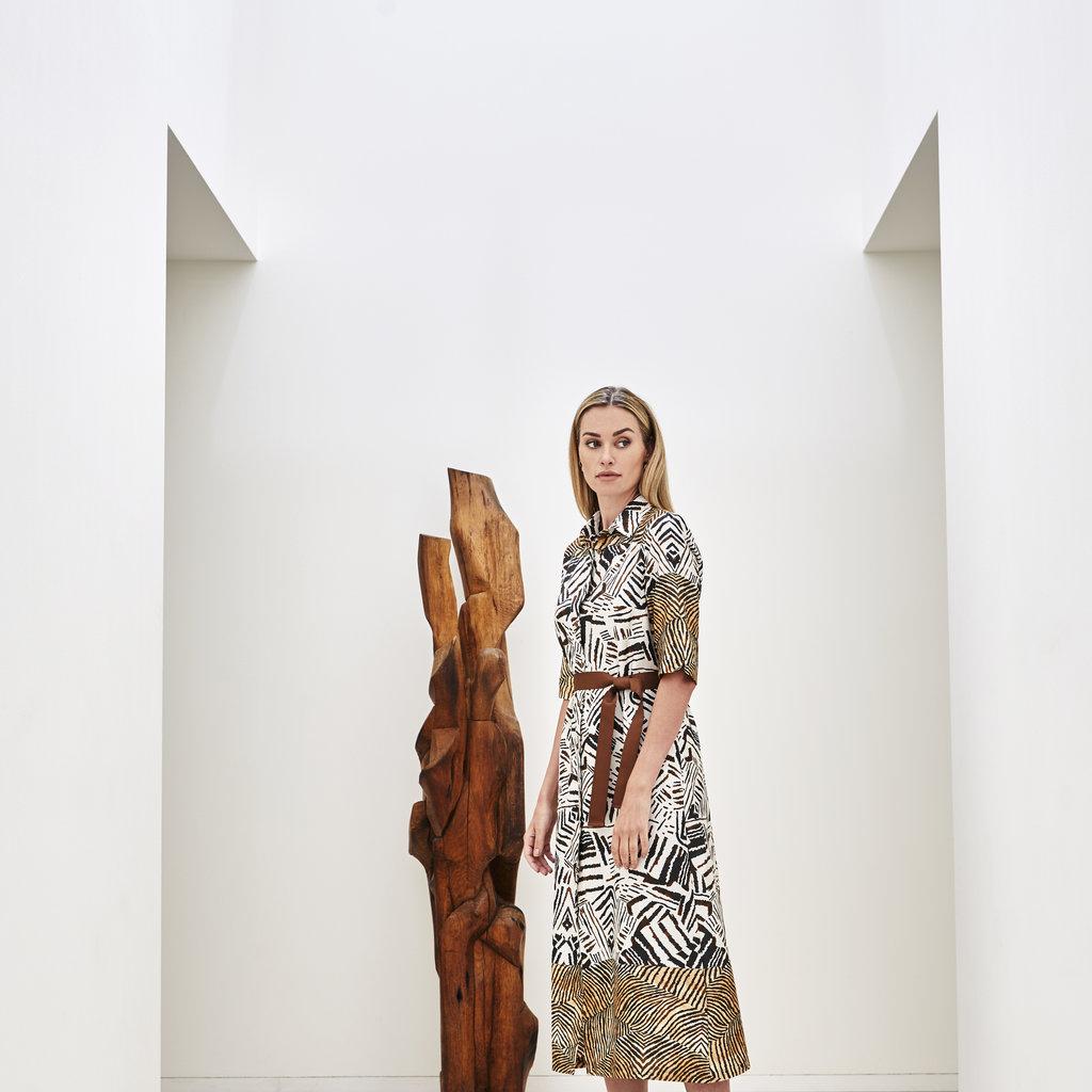 Lasalle LaSalle Buttondown dress