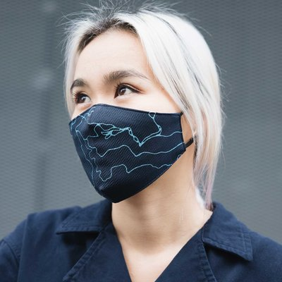 SKFK Mondmasker Blueberry