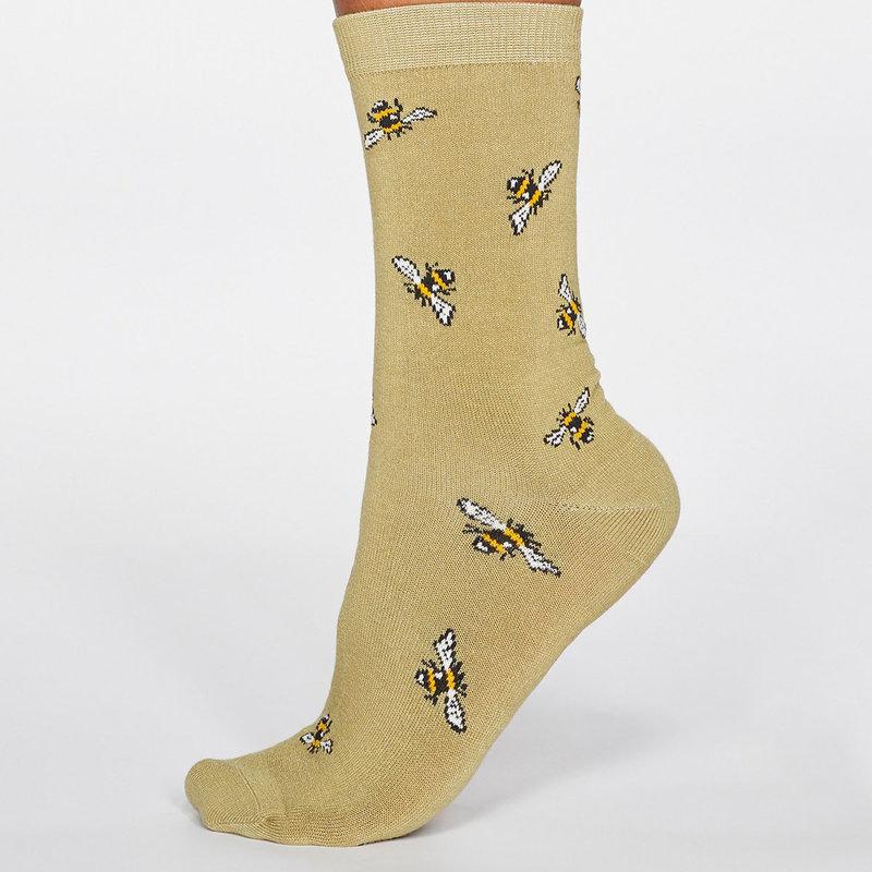 Thought Thought Rhoda Bee socks groen