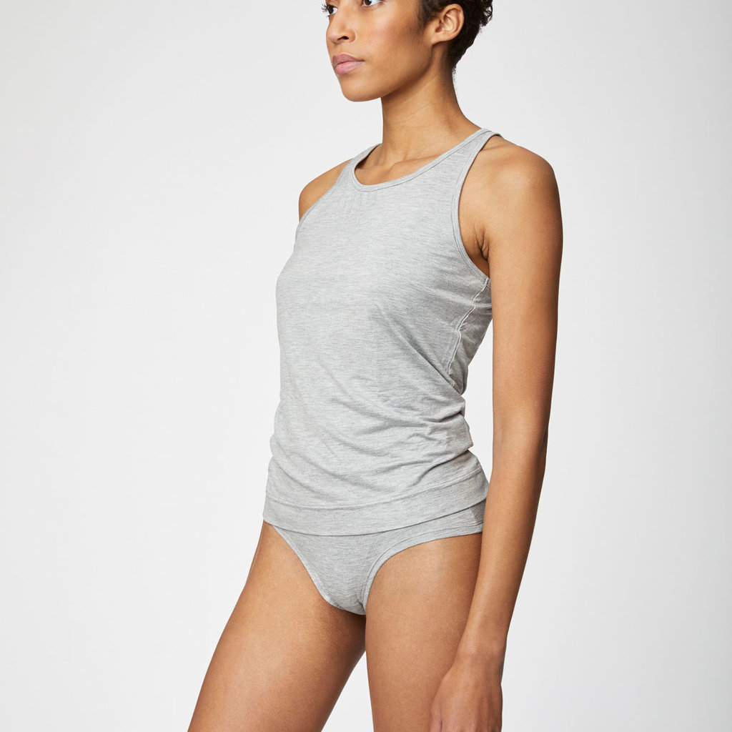 Thought Thought The essential organic cotton bikini briefs grey marle