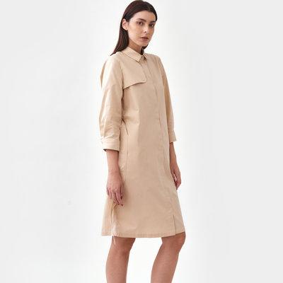 Mila.vert Mila.vert trench shirt dress