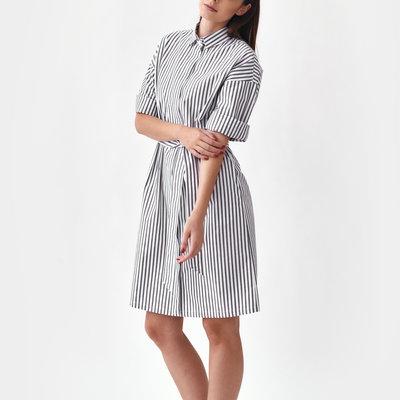 Mila.vert Mila.vert striped shirt dress