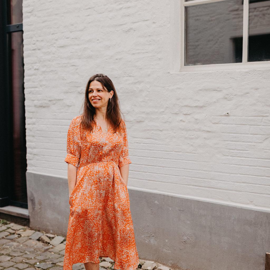 Lasalle Lasalle Button front dress Bermuda