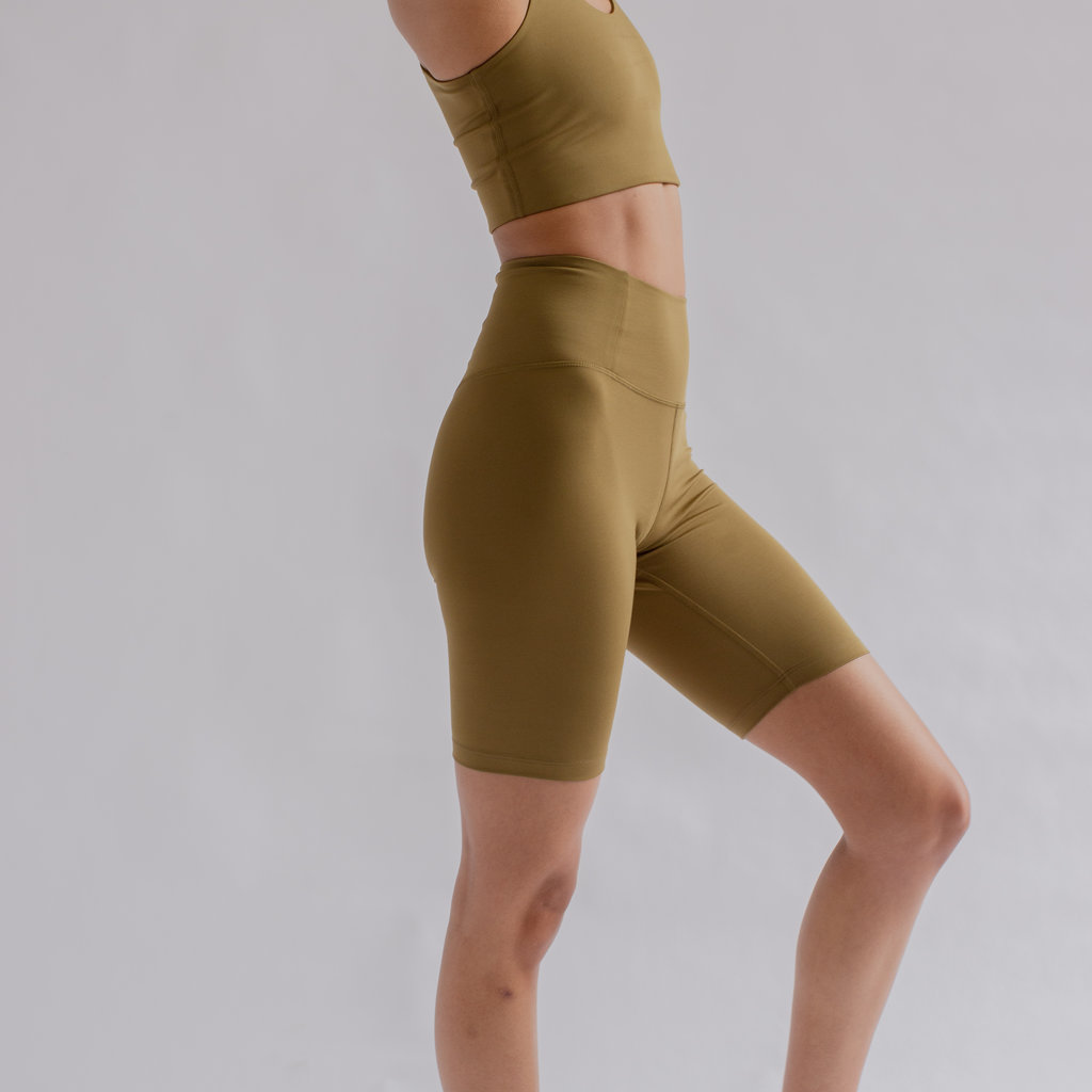 Girlfriend Collective Float seamless high - rise shorts